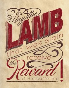 lamb-slain