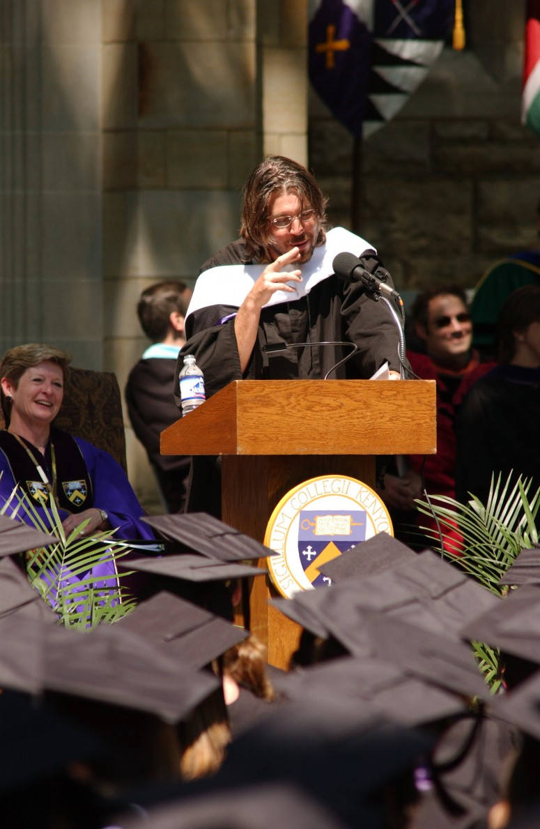 foster wallace commencement